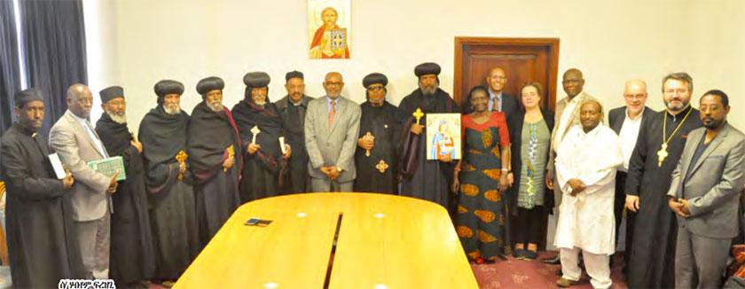World Council of Churches Delegates in Eritrea