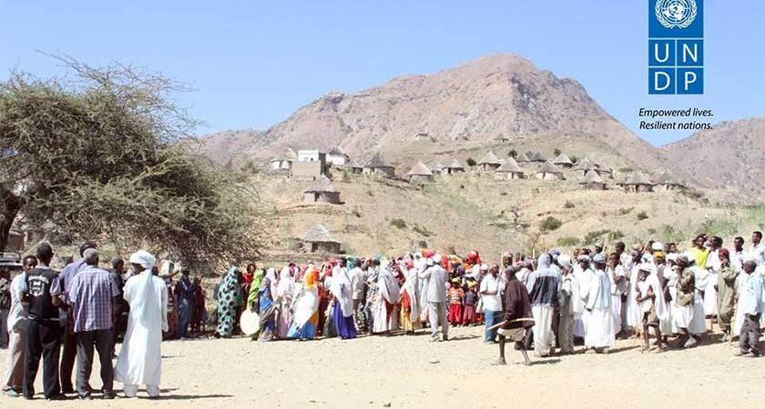 Residents of Ajerbeb Village Welcome Solar Eenergy Lighting