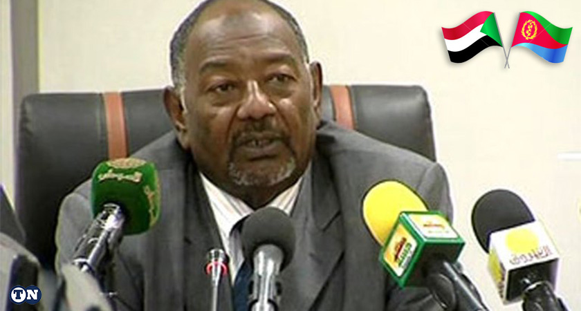 Sudan dismisses the existence of its military at the Eritrean Border