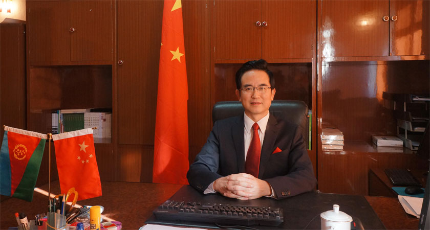 'Broader Prospects for China-Eritrea Friendly Relations' : Ambassador Zigang