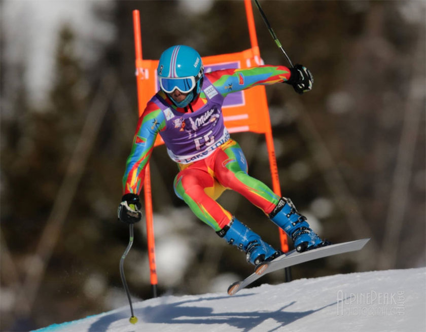 Shannon Abeda qualified for the 2018 Winter Olympics in South Korea