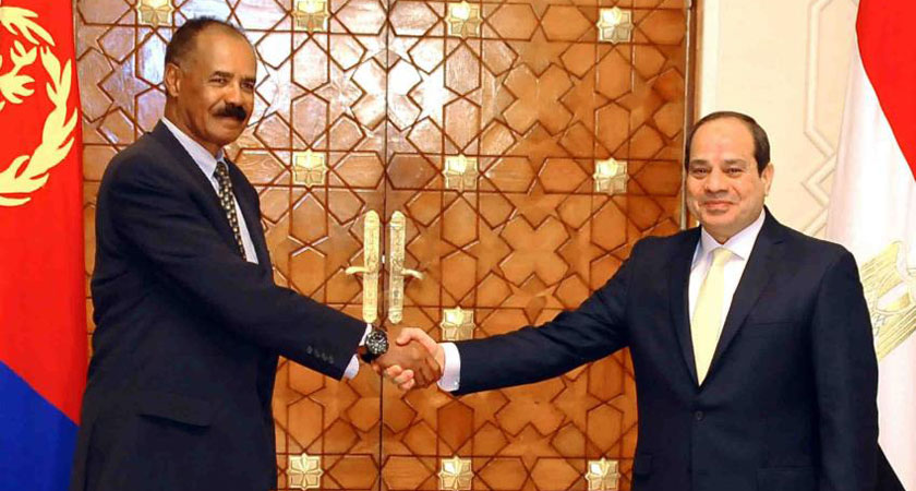 Egypt and Eritrean President to meet in Cairo