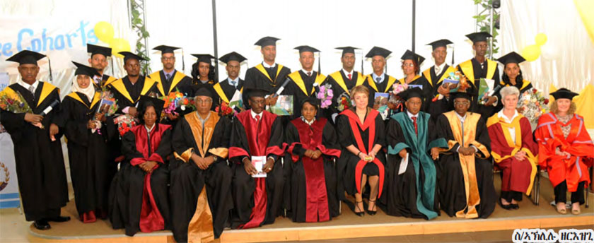 Eritrea: 15 Health Ministry Workers Graduate With Masters Degree