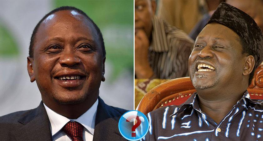 Raila Odinga takes a symbolic oath of office in a direct challenge to President Uhuru Kenyatta