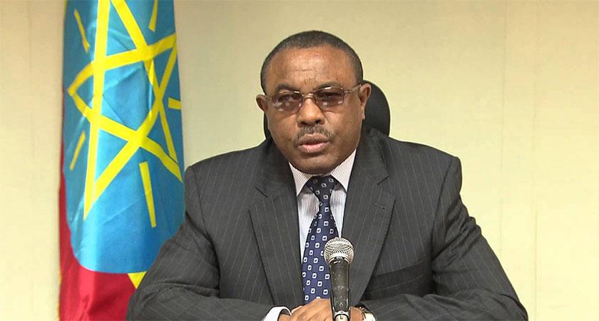 Hailemariam Dessalegn submit resignation letter to Ethiopia parliament