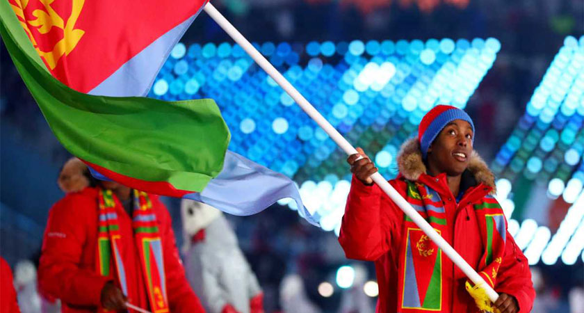 Eritrea's 1st Winter Olympian is From Canada