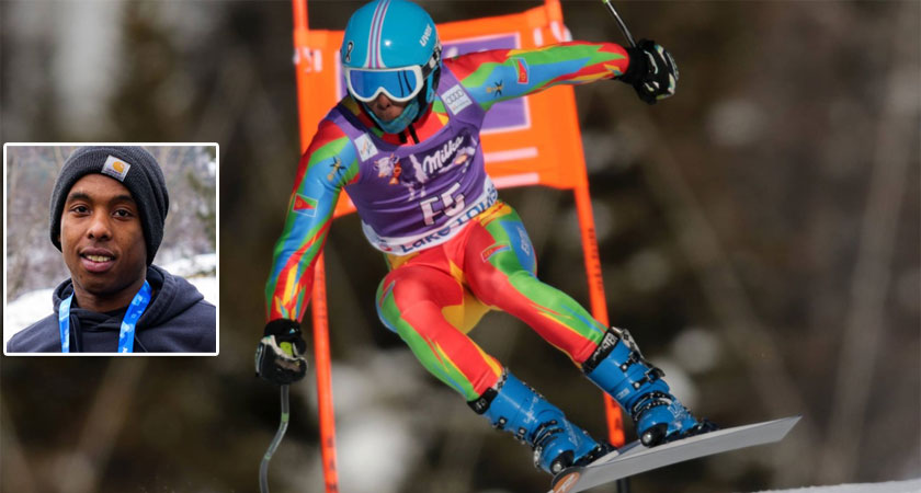 Eritrea will be represented at the Winter Olympic Games in PyeongChang by Shannon Ogbani-Abeda