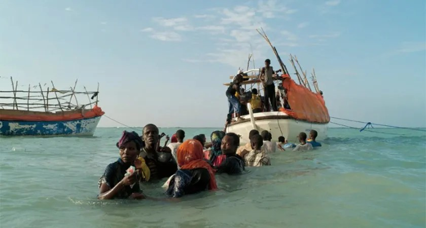 Thousands of Ethiopian migrants continue to make the perilous journey to war-torn Yemen