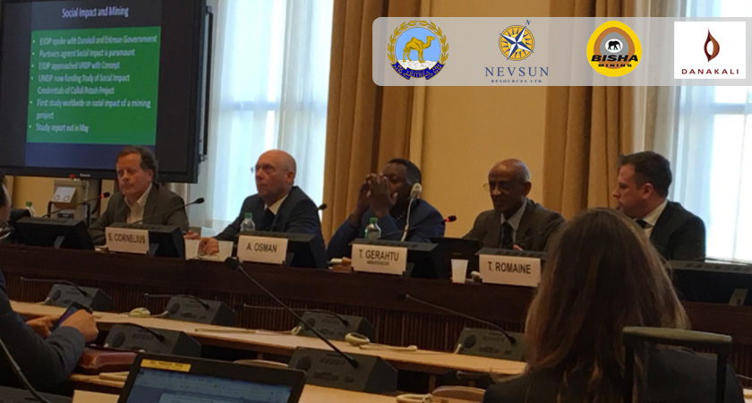 "UN Side Event, ""Demystifying Eritrea: The Ground Reality, Mining and Human Rights"""