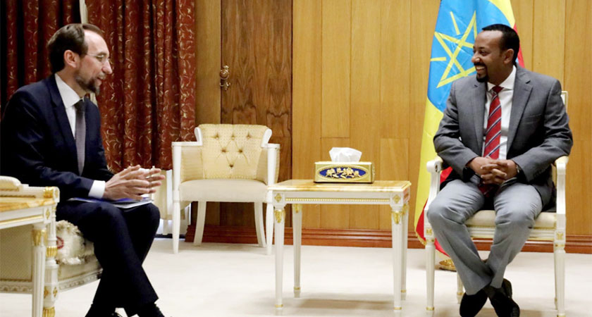 UN Human Rights Chief Met Ethiopia Opposition Leaders, Journalists