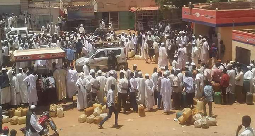 cooking gas and fuel crisis bites across Sudan