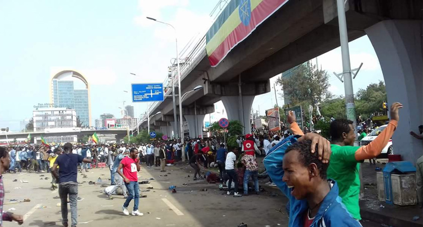 Addis Ababa rally for PM Abiy turn deadly