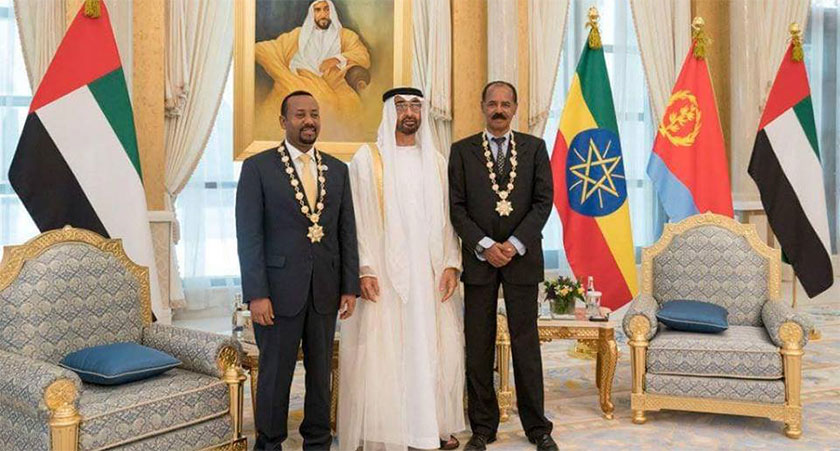 "President Isaias and Prime Minister Abiy honored with the ""Order of Zayed"","