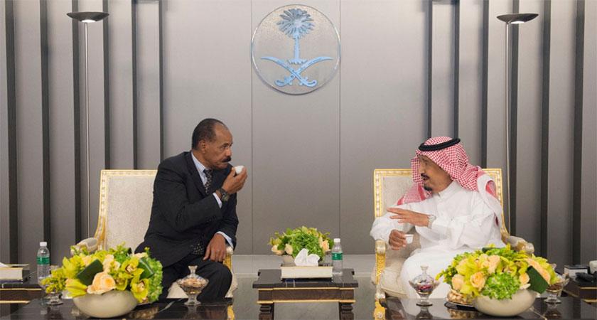 President Isaias Afwerki Arrives in Saudi Arabia for Working Visit