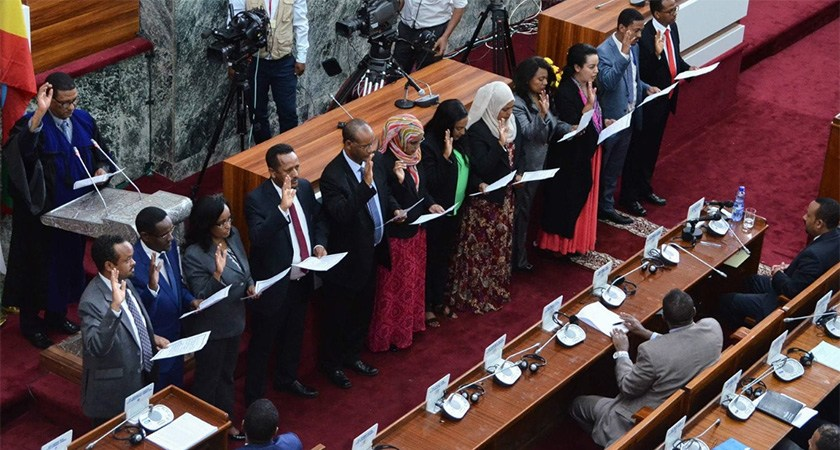 Ethiopian PM Announce New, Half Women Cabinet Ministers
