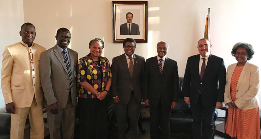 Dereje Wordofa held a fruitful dialogue with FM Osman Saleh