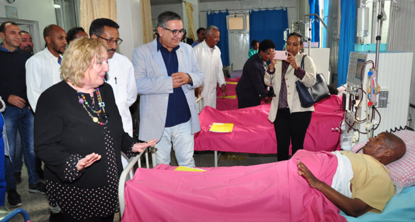 Cardiology Unit at Orotta National Referral Hospital in Asmara inaugurated
