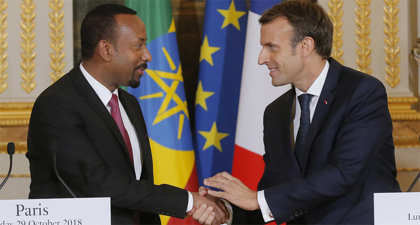 France to Help Landlocked Ethiopia Build Navy
