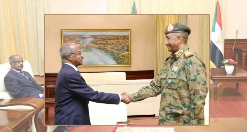 Senior Eritrean Delegation Arrived in Sudan