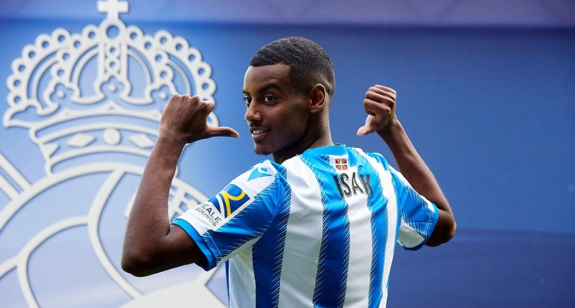 Alexander Isak Leaves BVB for Real Sociedad in €10m Deal