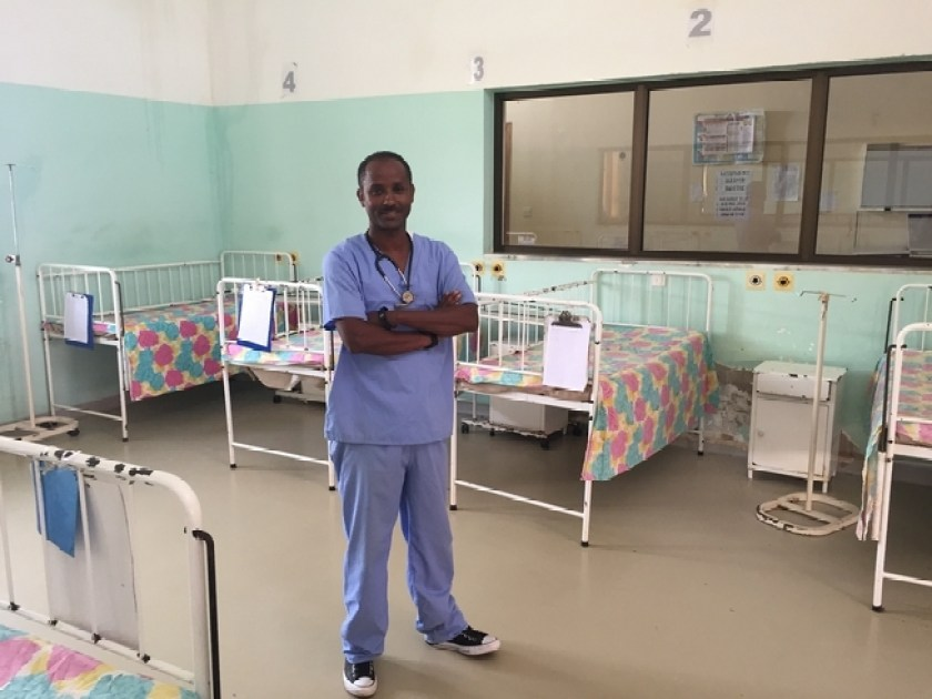 Fistula ward at Mendafera referral hospital
