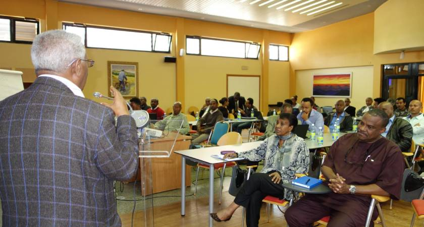 The National Health Accounts training provided to 34 Eritreans