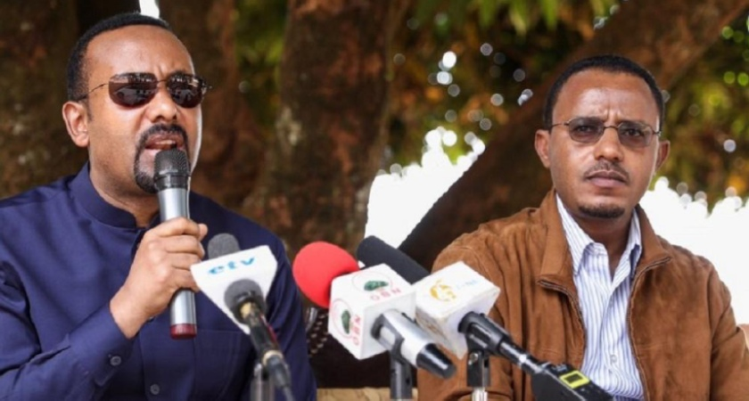 Defense Minister Lemma Megerssa Turns His Back on PM Abiy