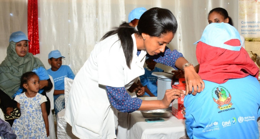 Eritrea Launched Nationwide Meningitis Vaccination Campaign