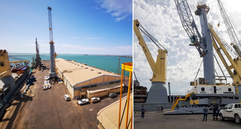 Dubai based port operator contracted by the Eritrean government since 2018 to develop the Eritrean Ports.