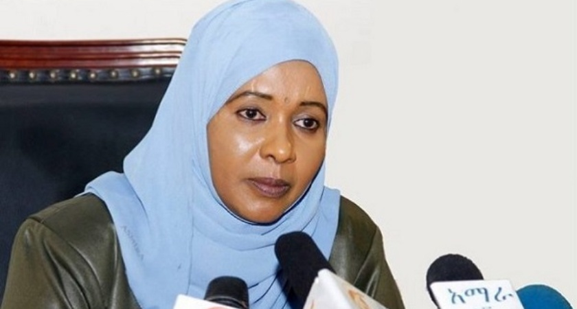 Ethiopia's upper house speaker, Keria Ibrahim, tendered her resignation