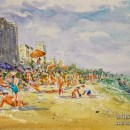myrtle-beach-sc-plein-air-beach-painting-watercolor-2-tesh-parekh