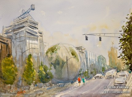 nature-research-center-raleigh-nc-plein-air-watercolor-painting