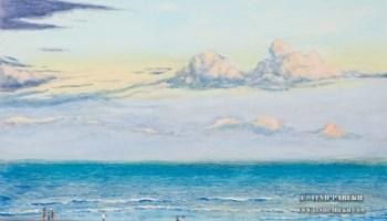 Myrtle Beach Painting In Gouache