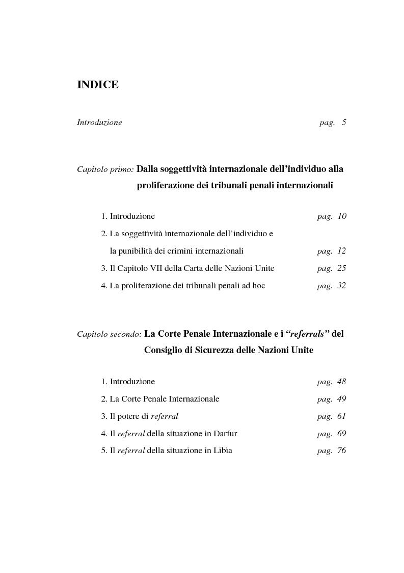 Natura E Funzioni Della Corte Penale Internazionale Il Caso