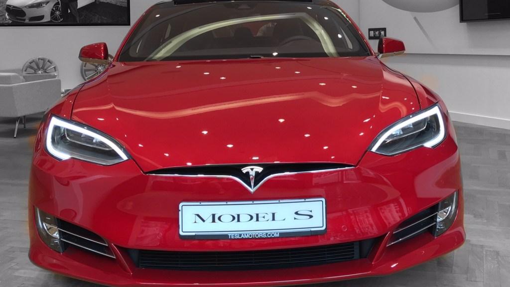 model S facelift 2016
