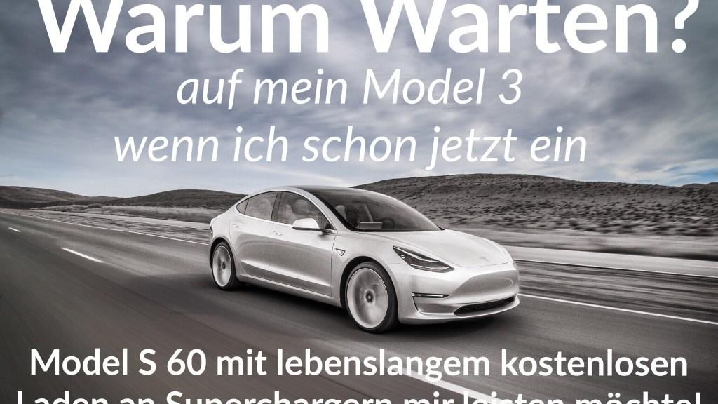 Model 3 Warten