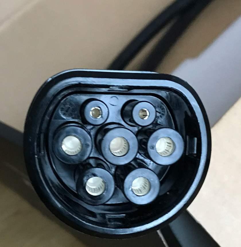 Connector voorkant