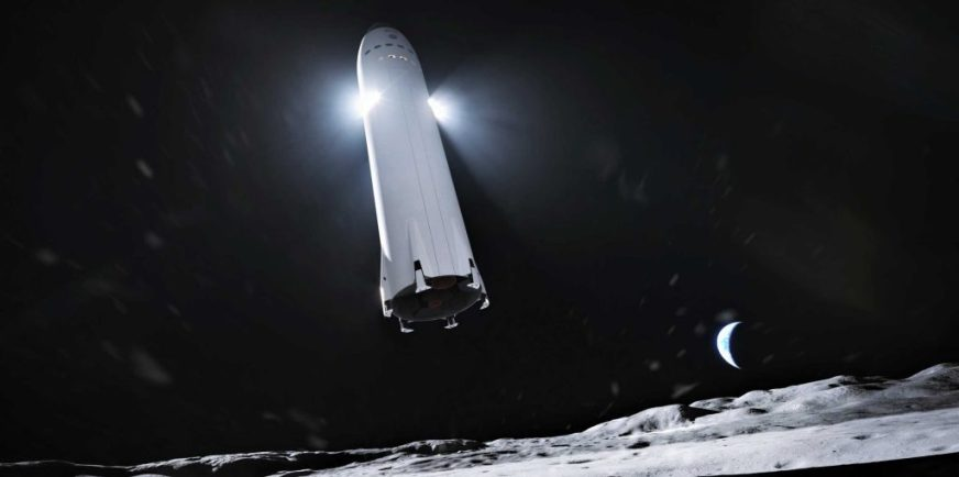 SpaceX Starship to land NASA astronauts on the Moon