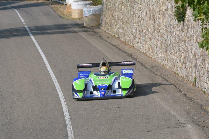Il vincitore, Michele Fattorini con Osella FA30