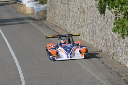 Il terzo classificato, Giovanni Rampini con la Osella PA 21 EVO