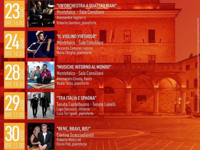 """Montefalco ospita la manifestazione """"Montefalco Musica Doc"""""""