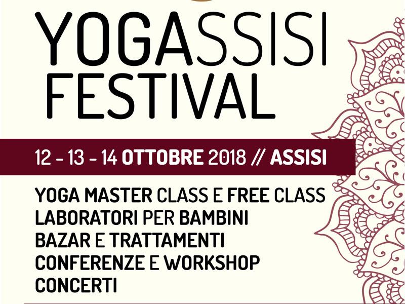 YogAssisi Festival pronto a invadere la città serafica
