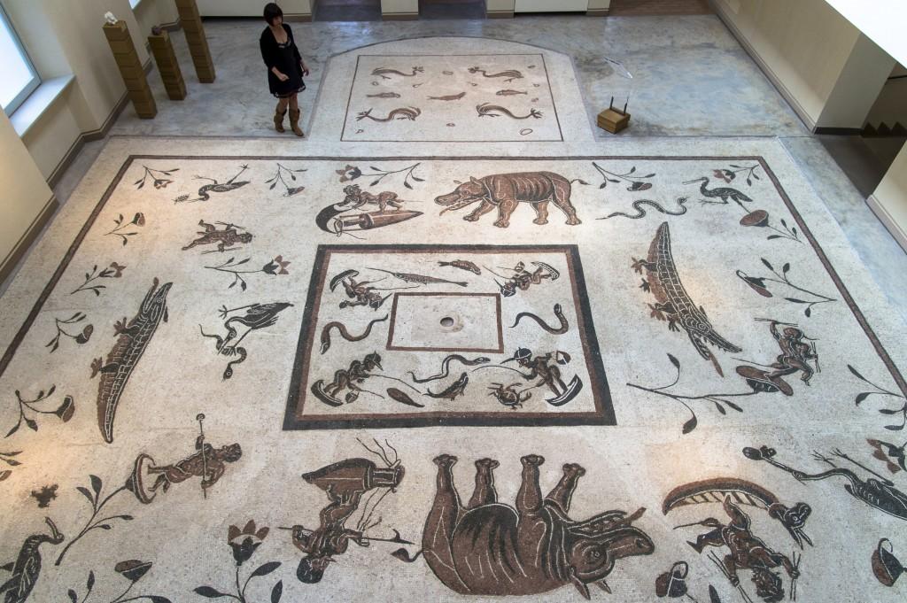 Mosaico proveniente da Urvinum Hortense