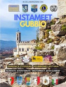 Instameet Gubbio-locandina