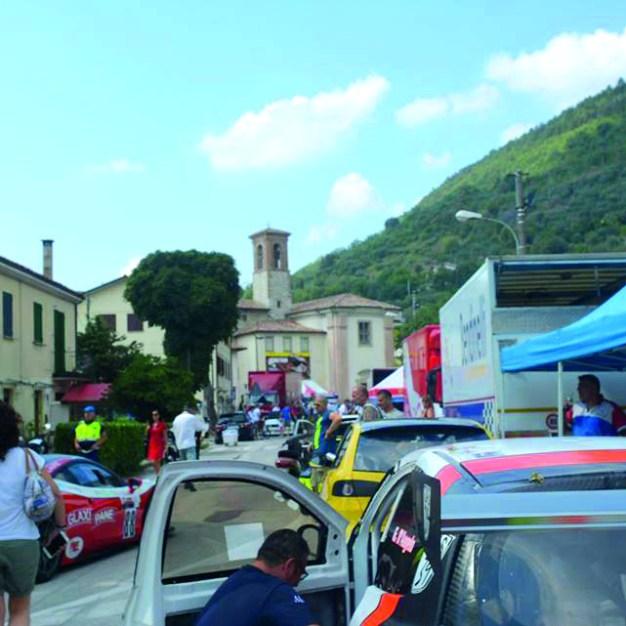 Il paddock del Trofeo Luigi Fagioli