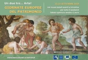A Gubbio le giornate europee del patrimonio-locandina