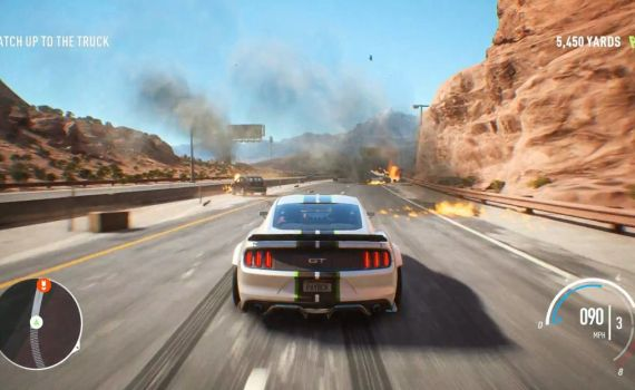[E3] Need for Speed : Payback montre son gameplay hollywoodien (à voir sur T'es Pas Net !)