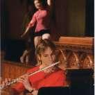 Tessa Brinckman & dancer from Agnieszka Laska Dance Company