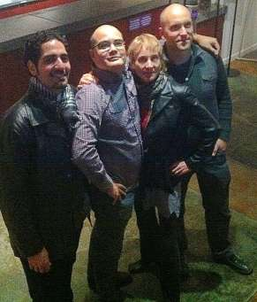 White Snake musicians & Andre Pluess at Berkeley Rep 2012
