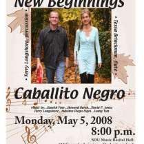 Caballito Negro's 1st concert